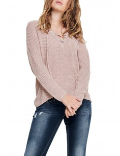 onlPEYTON L/S LACE UP...