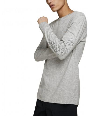 Jack /& Jones Jorclayton tee LS Crew Neck Fst Shirt para Hombre