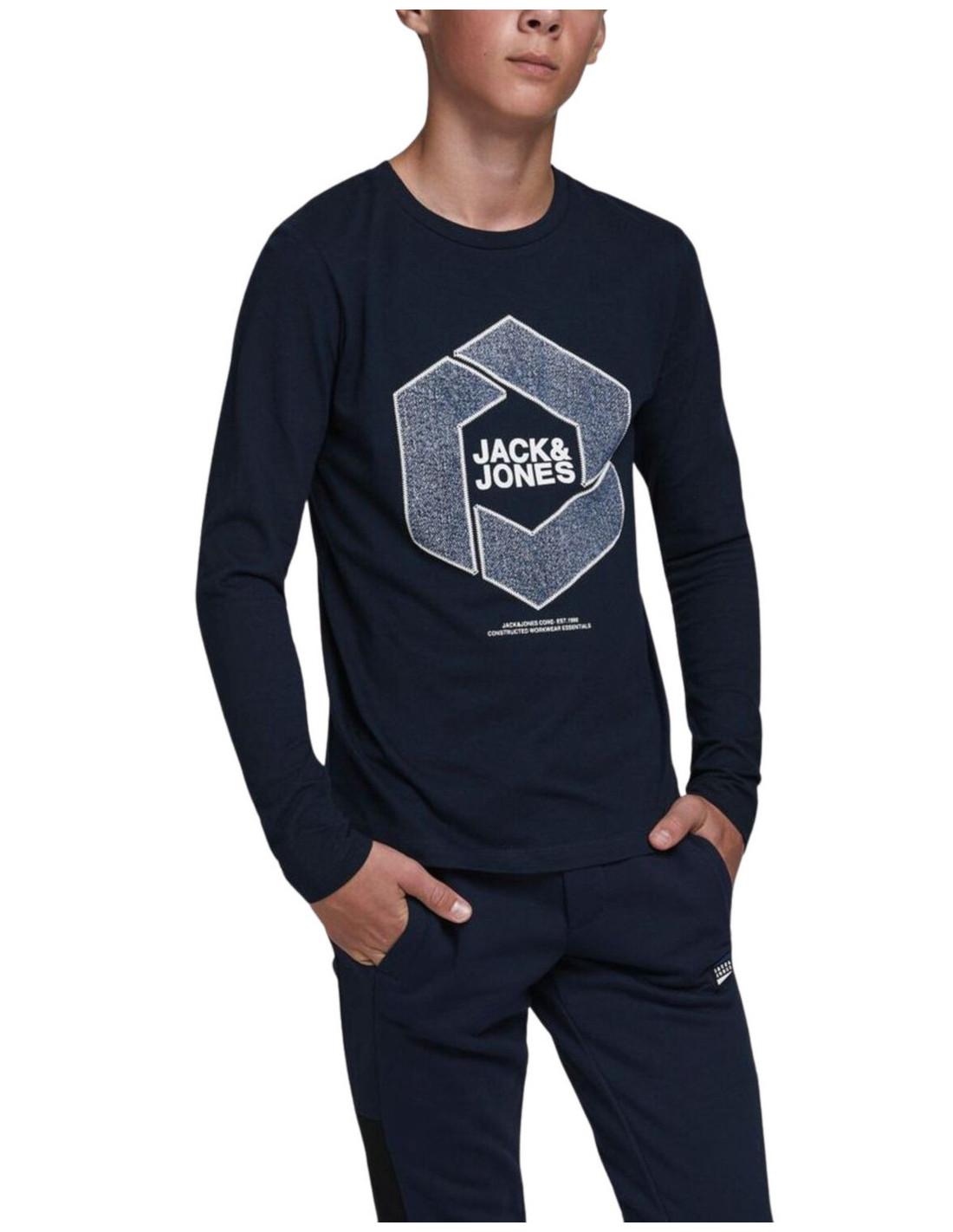 Jack /& Jones Jcotube tee SS Crew Neck Camiseta para Hombre