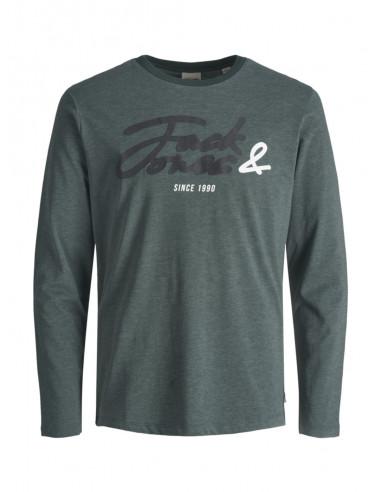 Jack /& Jones Jcostone tee LS Crew Neck Camiseta para Hombre